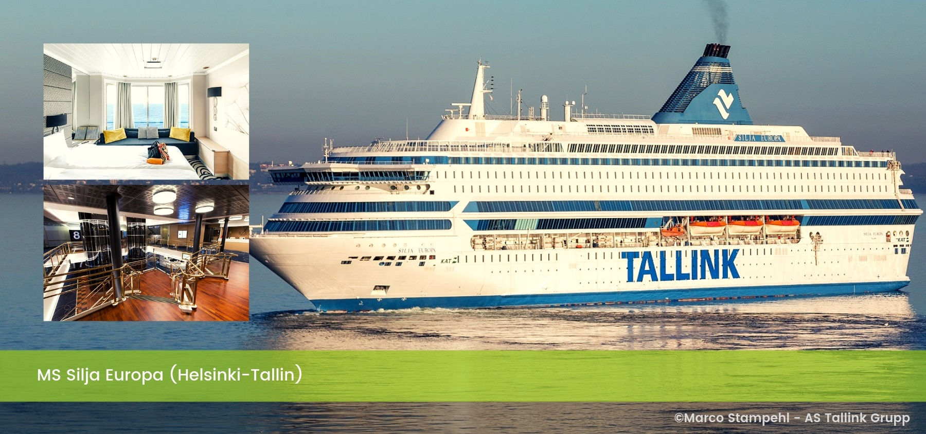 Ms Silja Europa (Helsinki-Tallin)