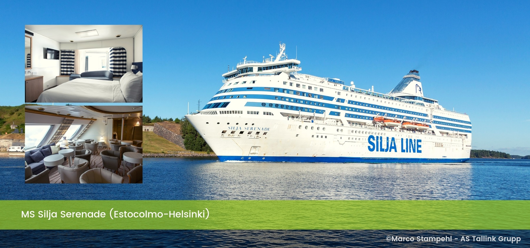 Ms Silja Serenade (Estocolmo-Helsinki)