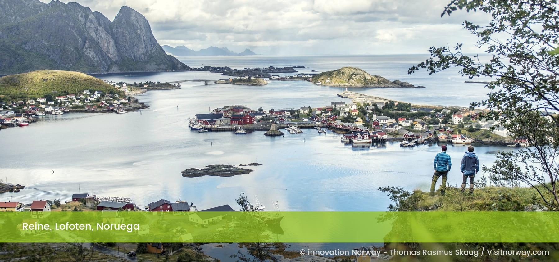 Reine, Lofoten, Noruega