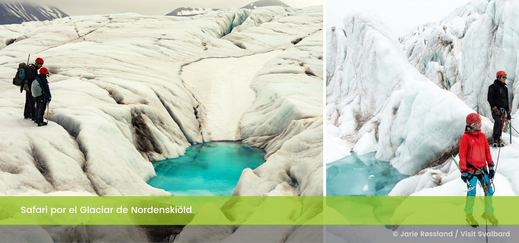 Safari Glaciar de Nordenskiöld Islas Svalbard Noruega