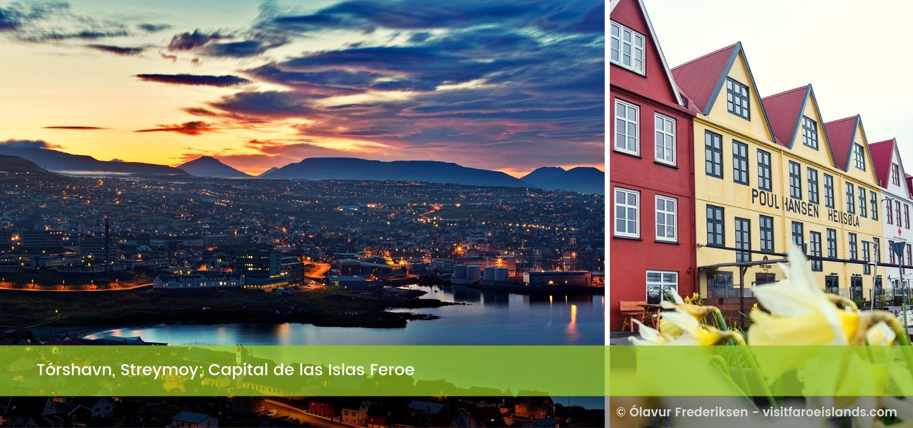 Tórshavn, Streymoy. Islas Feroe