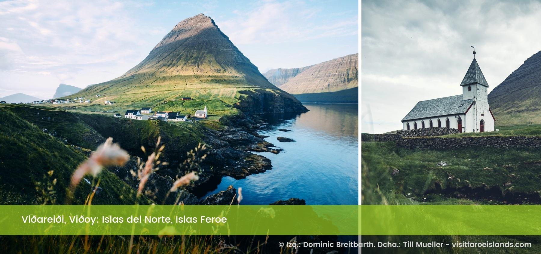 Viðareiði, Viðoy. Islas del Norte, Islas Feroe