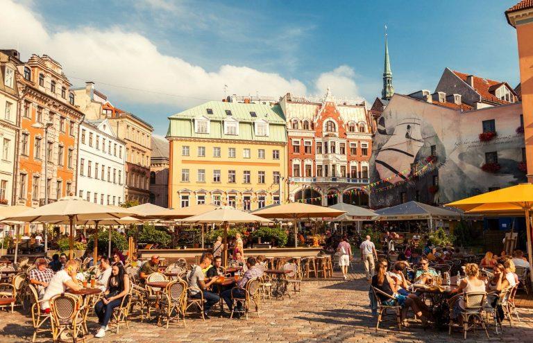 Capitales del Báltico en Barco Riga