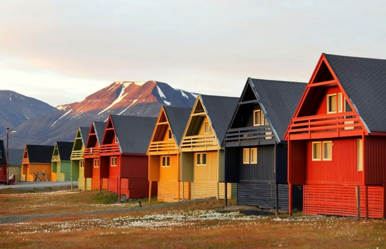 Islas Svalbard en Verano