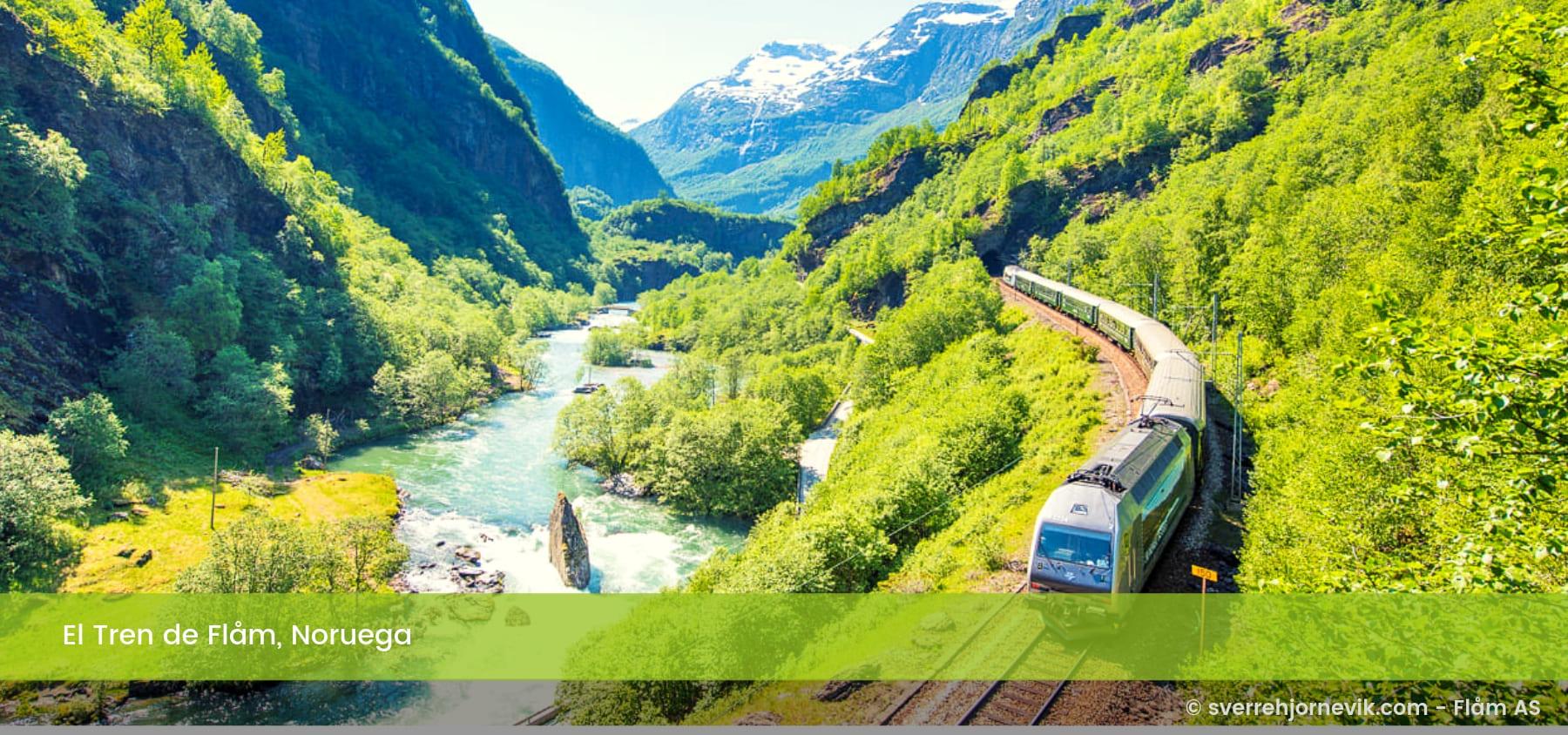 El Tren de Flåm Noruega