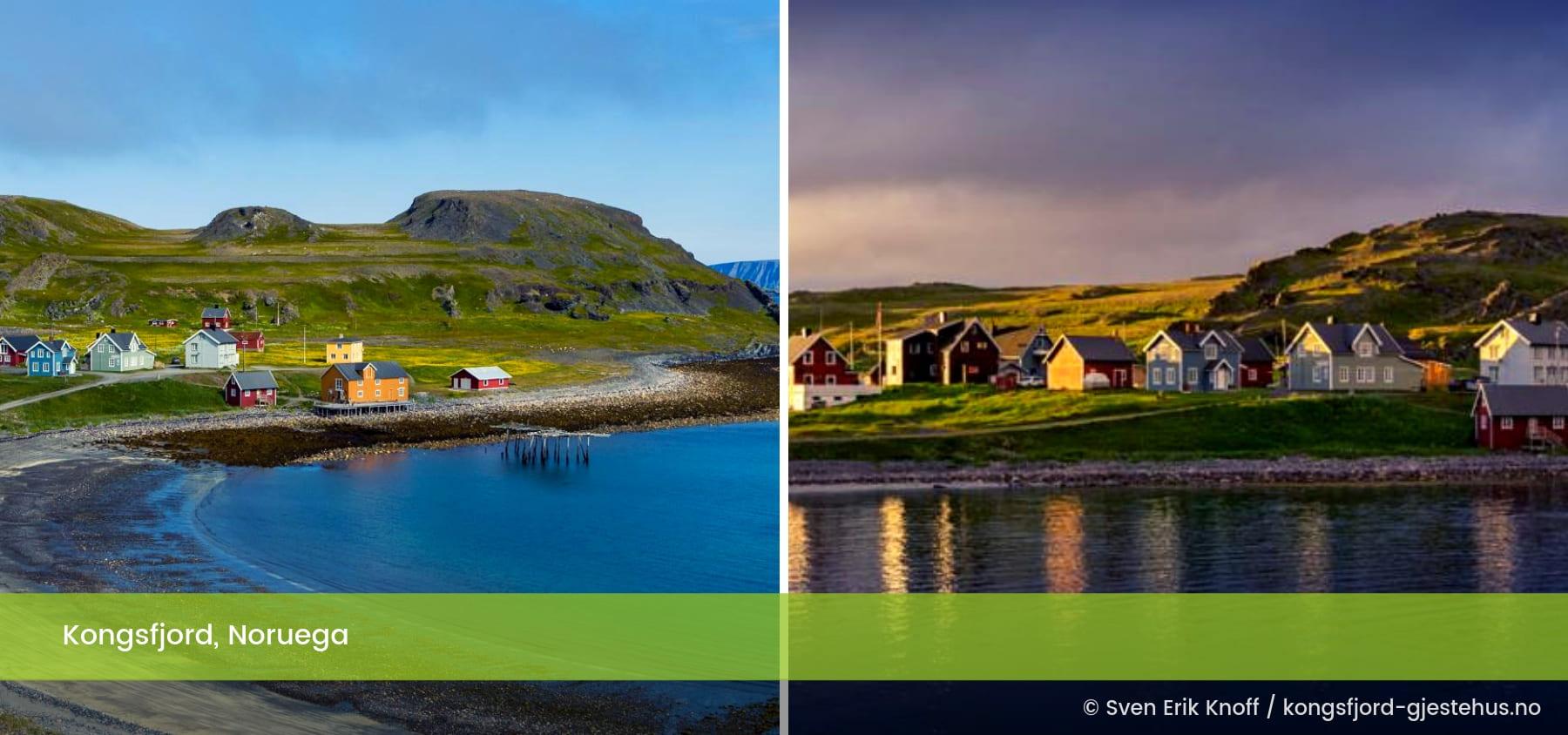 Kongsfjord Noruega
