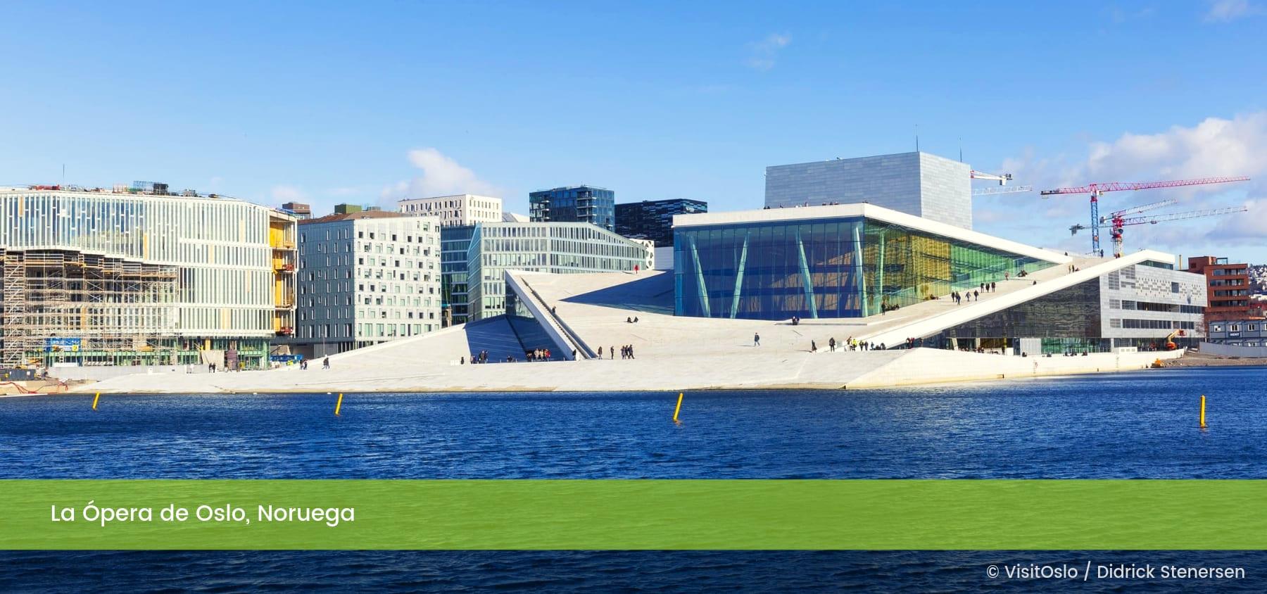Opera de Oslo Noruega