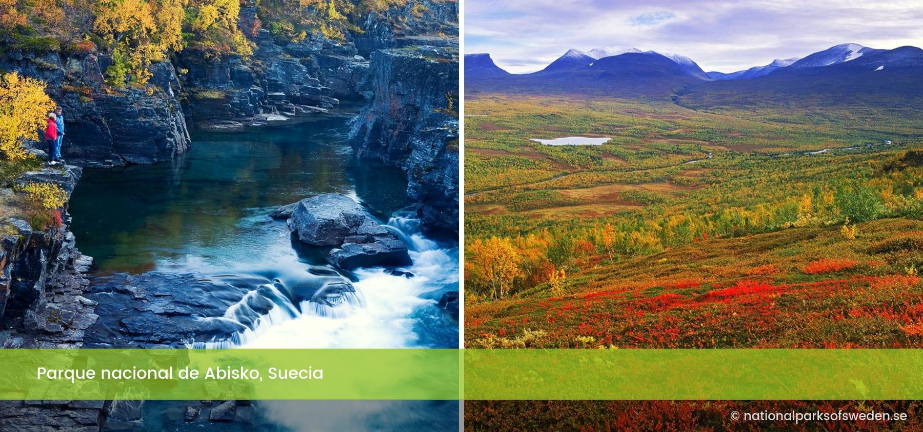 Parque nacional de Abisko Suecia