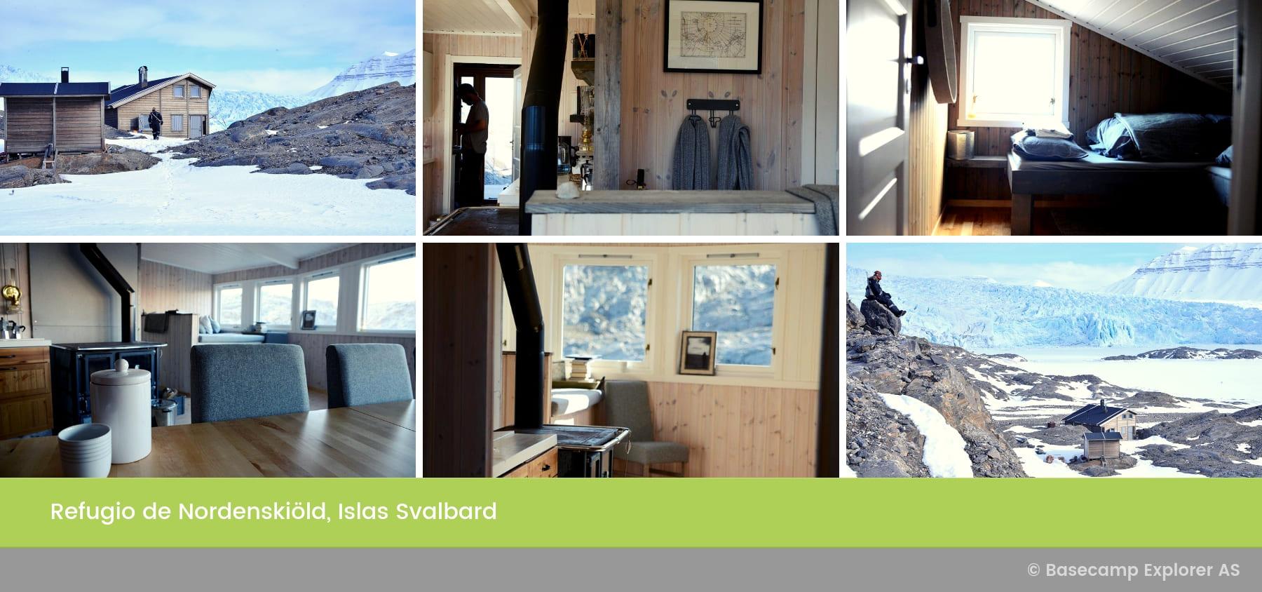 Refugio de Nordenskiöld, Islas Svalbard