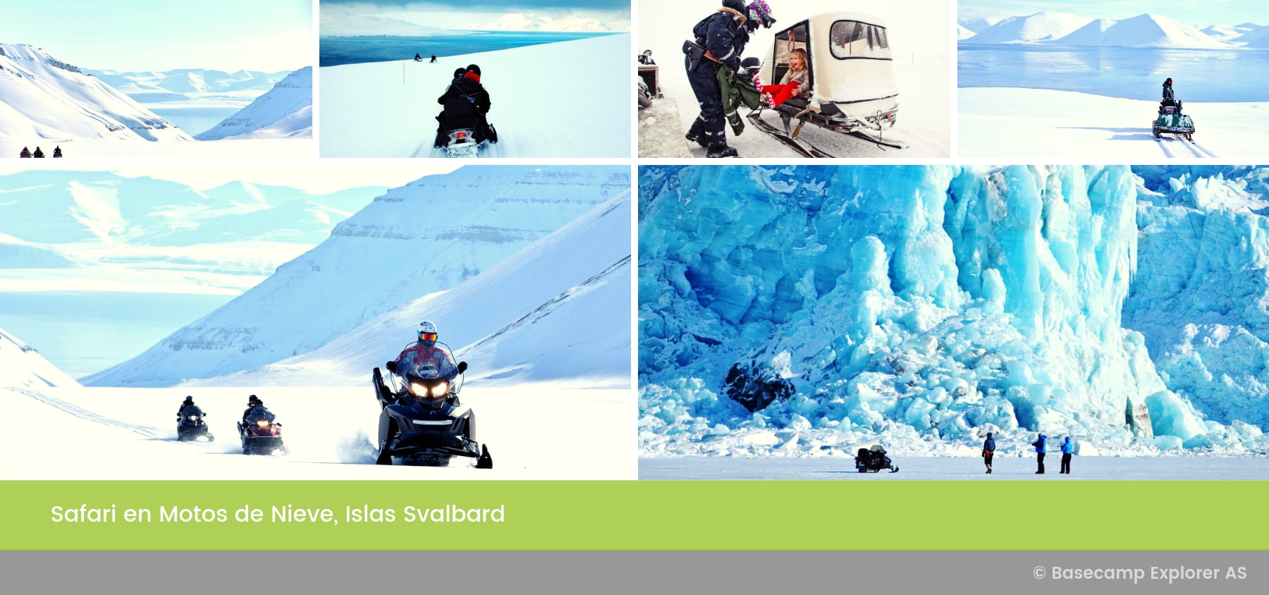 Safari en Motos de Nieve, Islas Svalbard