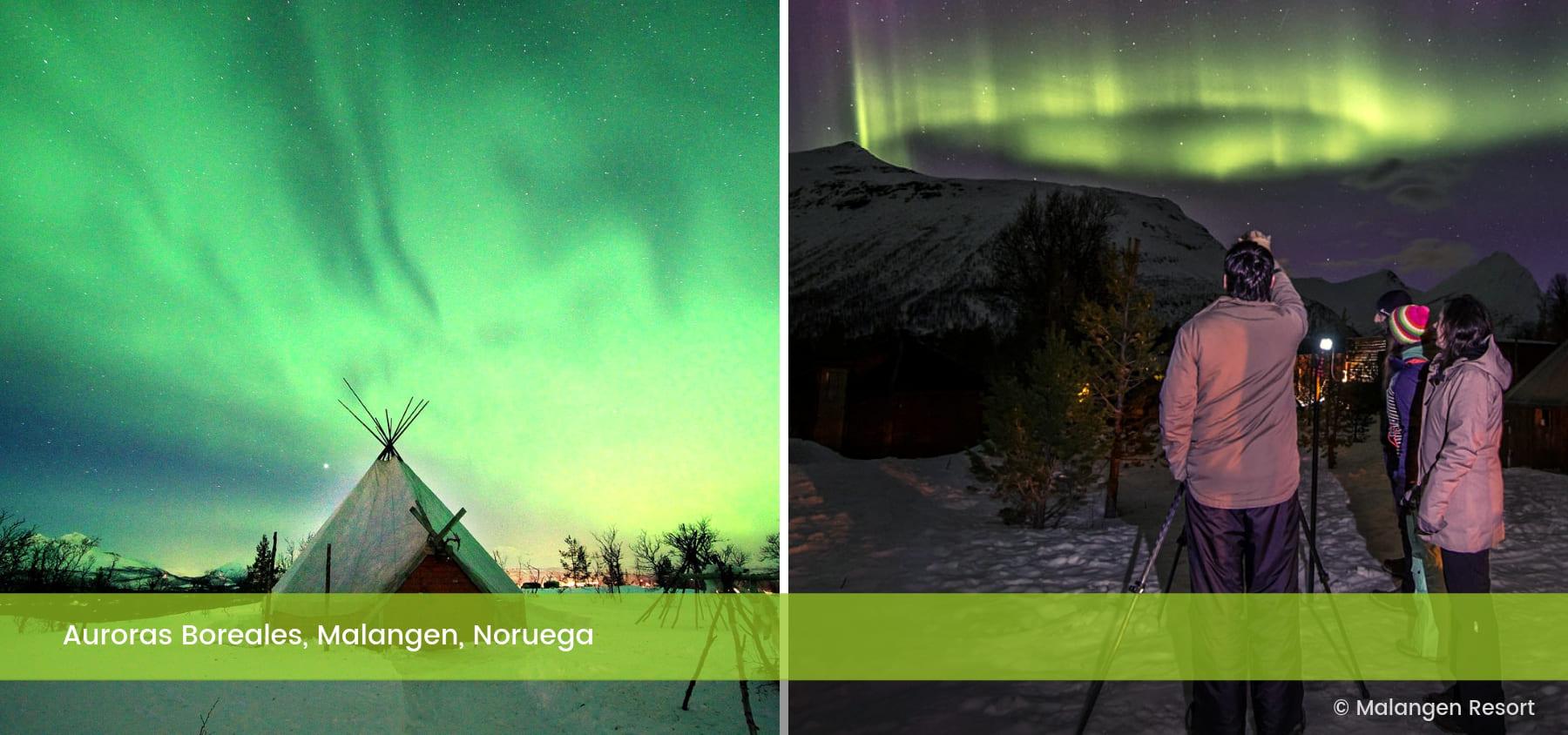 Observación de Auroras Malangen Noruega