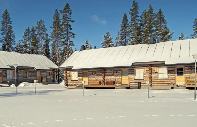 Äkäslompolo Cabaña de Madera Laponia