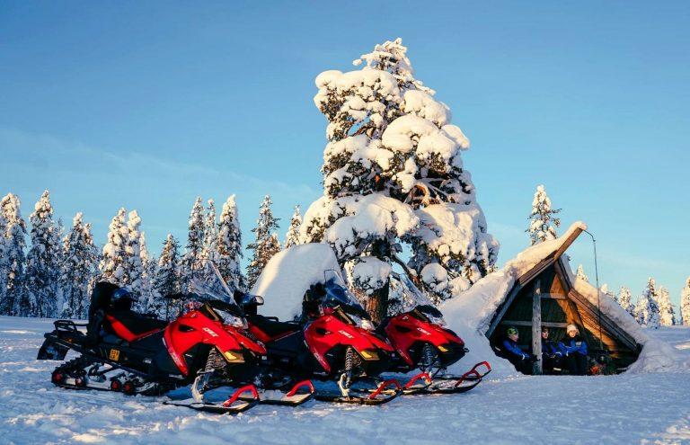 Safari en Moto de Nieve