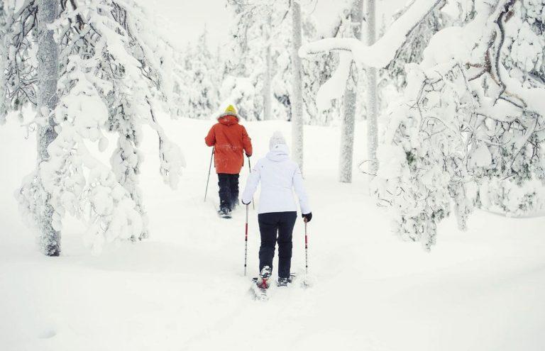 Silencio Blanco Raquetas de Nieve