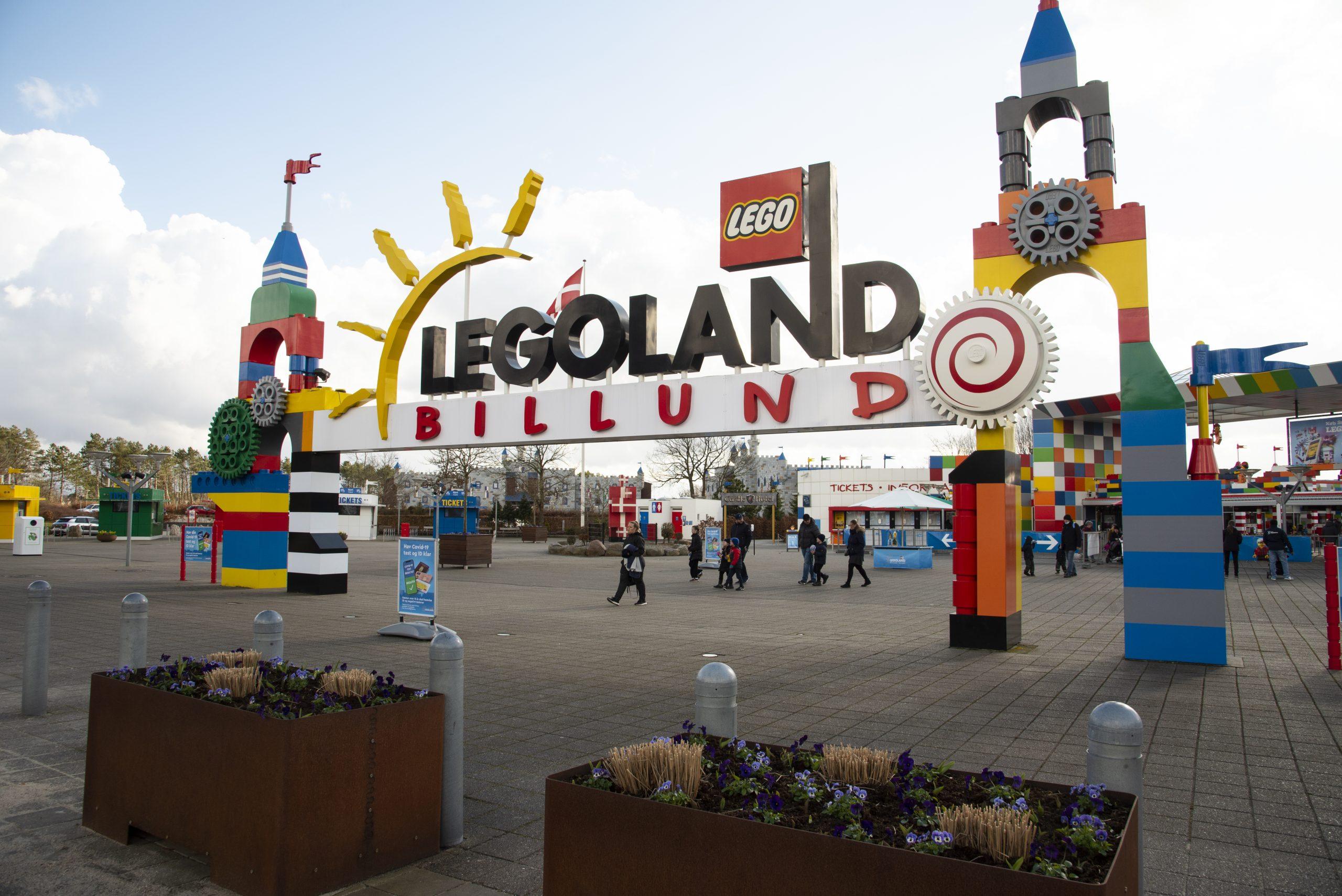 Legoland Billund Parque Temático Entrada Dinamarca